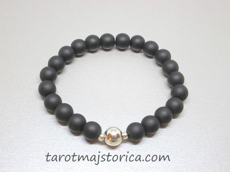 crni ahat, nakit online, poludrago kamenje, nakit kristali, energetski nakit, narukvica poklon, tarot , bioenergija